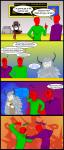 /monster/ 2boys 2girls anon artist:rishi bag burger cash_register comic dragon fighting mcdonold's monster_girl purple_hair redanon suit text uniform wendigo white_hair  rating:Safe score:0 user:dust