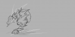 1boy artist:leia end_game_was_taken jumping max monochrome sketch  rating:Safe score:0 user:ourobooru