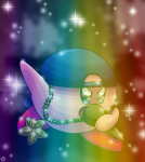 artist:counterpointclover dumb_wordplay kirby rapper!kirby tagme  rating:Safe score:0 user:CounterpointClover