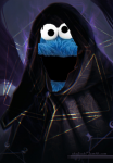 cookie_monster cookies dungeonmaster dungeons_and_dragons gimme_all_your_cookies_or_else_i_will_shank_you_and_your_family_for_fricking_cookies muppets sesame_street  rating:Safe score:0 user:Westeford