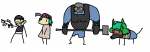 bandit buck ela grom gsg-9 jtf2 sas sledge  rating:Safe score:0 user:r6gdrawfriends