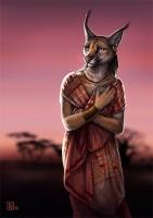 2010 earring evening feline necklace nimrais serengeti solo yellow_eyes  rating:Safe score:0 user:safefurry