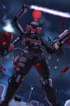antagonist artist:rakihiro blood cyborg energy_sword gun nuke nuke_ops space syndicate_cyborg  rating:Questionable score:0 user:erwgd