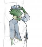 artist:jnhchroma female lizardperson medbay medical_doctor paramedic scalie  rating:Safe score:0 user:erwgd