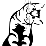 awkward cat grinning tagme  rating:Safe score:0 user:M99moron