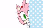 amy_rose colored hedgehog peek reaction safe smug unknown_artist  rating:Safe score:0 user:JebKush119