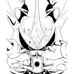 abt_inks adam_bryce_thomas_(artist) alternate_form echidna hedgehog idw_9 idw_comics ink knuckles_the_echidna lamar_pencils lamar_wells_(artist) metal_series metal_sonic neo_metal_sonic safe sonic_the_hedgehog  rating:Safe score:1 user:SoshYosh