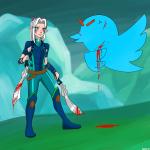 crossovers dustovel rayla the_dragon_prince twitter  rating:Safe score:0 user:Blargarg