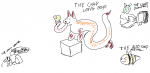 bee fox ice_cream insect long_tongue meme noodle_fox  rating:Safe score:0 user:egg