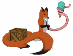 fox ice_cream long_tongue noodle_fox tagme  rating:Safe score:0 user:egg