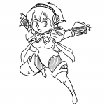 aigis android artist:lesser fusion hyrule_warriors linkle persona persona_(series) persona_3 shin_megami_tensei the_legend_of_zelda  rating:Safe score:0 user:headpat