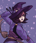 1girl artist:borvar big_breasts breasts goth maggie runescape witch  rating:Questionable score:1 user:taffer