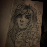 clover tagme traditional_art vivian_james  rating:Questionable score:1 user:pooka