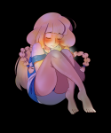 barefoot blonde_hair blush lillie panties rf_(artist) tagme tears toes  rating:Questionable score:0 user:Nobody89
