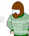 christmas doomguy duke_nukem faraz_parsa_(artist) xmas  rating:Safe score:0 user:SmugglyDumplings