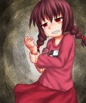 aosora_(mizore) blood crying cuts madotsuki red_eyes  rating:Questionable score:0 user:Kedd
