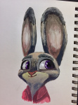 artist:famished character:judy_hopps doe solo species:rabbit  rating:Safe score:0 user:ForgetfulBadger
